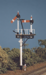 468 Ratio: ADVANCED CONSTRUCTION SIGNAL KITS  GWR Round Post (1 set Bracket/Jcn Signals)